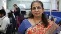 Mumbai stockbroker Deena Mehta