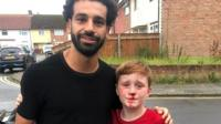 When Louis Fowler ran into a lamp-post, the Liverpool striker stopped to check he was OK.