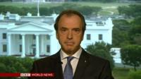 "Greek Amb to US sees ""humanitarian crisis"""