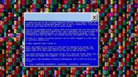 Экран с комьютерным вирусов