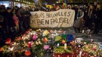 Vigil in Brussels