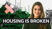 Presenter Julia Belle with title Housing is Broken