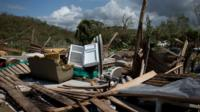 Homes destroyed in Chamela, Mexico after Hurricane Patricia