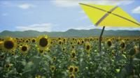 A computer generate image of prototype robotic sunshine