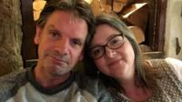 Helen Clues with her husband Andy