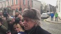 Bob Geldof returns the Freedom of the City of Dublin