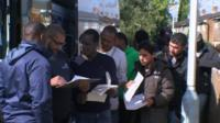 Asylum seekers arrive in Longford