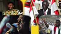 Ghana's four presidents who have held power since 1992
