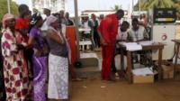 Votes cast in Guinea poll