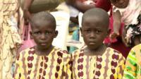 Twins in Igbo-Ora