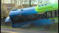 Guided Busway crash, Cambridge
