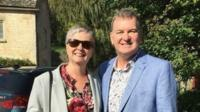 Dr Sally Bradley and William Harrop