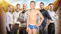 MOTD presenters with Lineker in underwear