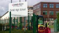Firrhill High School in Edinburgh