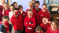 The school ditching red noses.