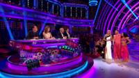 Scene from 'Strictly Come Dancing'