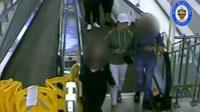 CCTV footage of Viktorija in Wolverhampton before her murder
