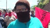 Maria Martinez, supporter of Salvador Nasralla