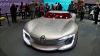 Renault electric concept car
