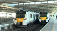 Thameslink first automated mainline trains