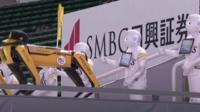 Robot cheerleaders