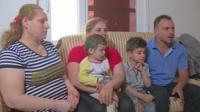 An Iraqi family.