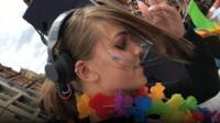 DJ Ella at Leeds Pride 2017