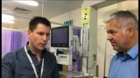 Dr Matt Morgan and Derek Brockway