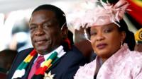 Mr and Mrs Mnangagwa