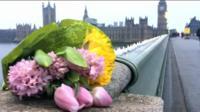 На месте нападения в Лондоне