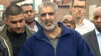 Tariq Jahan appealing for calm after his son's death
