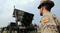 İspanya'nın İncirlik'e yerleştirdiği Patriot füzesi