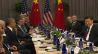 President Obama and Xi Jinping