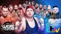 World of Sport wrestling poster for ITV