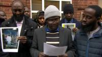 Members of Smethwick's Gambian Islamic Community Centre