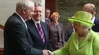 Martin McGuiness and the Queen