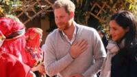 The Duke and Duchess of Sussex visit to Morocco