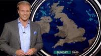 BBC Weatherman Simon King
