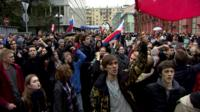 Moscow demonstration