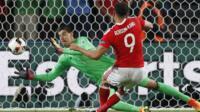 Hal Robson-Kanu scores against Belgium
