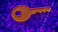 Graphic of a key