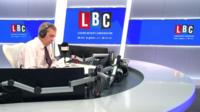 Nigel Farage speaks to Donald Trump on LBC radio