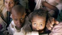 Ethiopian Jews being taken to Israel, 1991