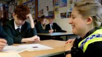 Gloucestershire Police force have stationed officers full-time within secondary schools around the county