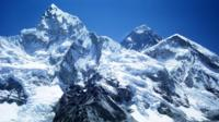 Mount Everest with the Khumbu Glacier and Nuptse in foreground viewed from Kala Pattar