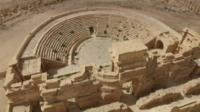 The Roman amphitheatre in Palymyra