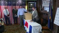Dixville Notch votes