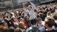 Avicci fans in Stockholm