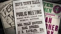 Suffragettes Posters