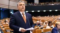 Viktor Orban in Brussels